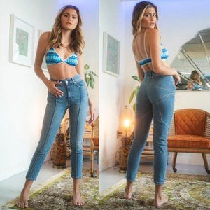 REVICE Star Butt Front Seam Venus Crop Jeans 27